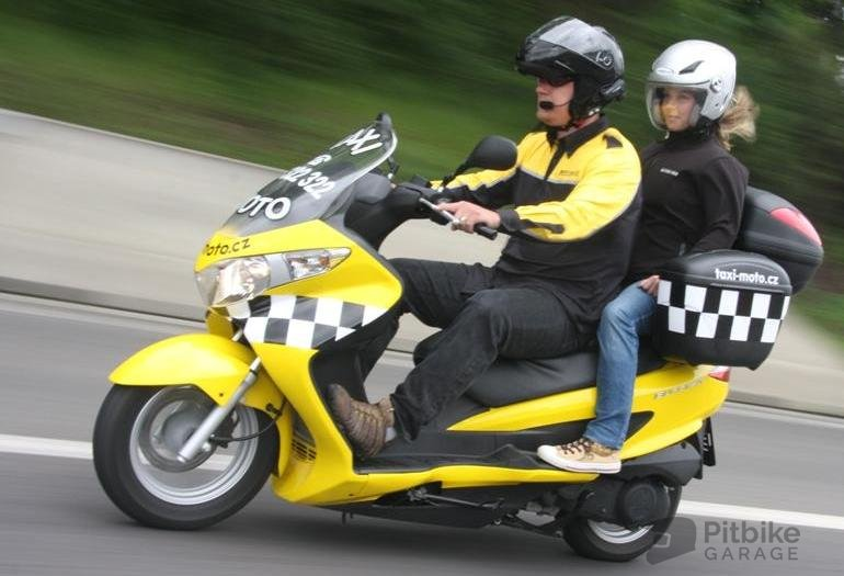 скутер такси
