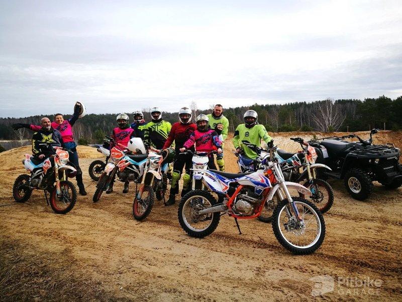 Новогодний корпоратив на мотоцикле или квадроцикле